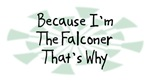Because I'm The Falconer