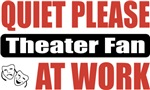 Quiet Please Theater Fan At Work