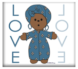 Ethnic Love Doll - no. 3