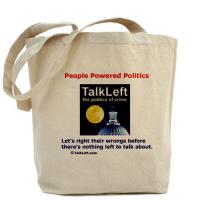 TalkLeft Tote Bags