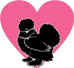 Silkie Chicken Heart