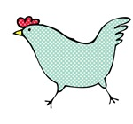 Polka Dot Chicken