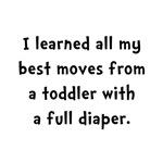 Toddler Full Diaper