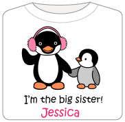 Big Sister gifts - Penguin
