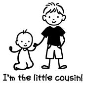 Little Cousin - Stick Figures