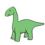 Green Brontosaurus