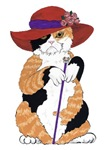 Calico Dowager -click for product