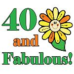 Fabulous 40th Birthday Gifts