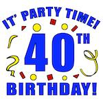 40th Birthday Party Time