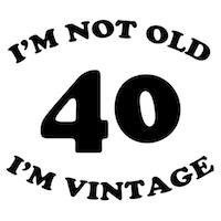 40th Funny Birthday