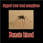 Donate Blood Mosquito