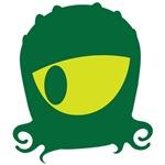 Green Kraken monster