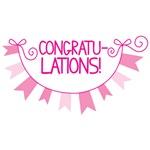 Congratulations cute banner!