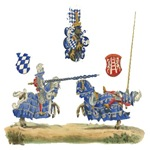Knights Jousting Locks & Keys Battle