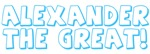 Alexander the Great gifts & apparel