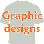 Graphic designs, shirts, mousepads, artwork