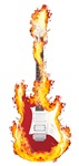 Flaming Guitar Rock & Roll lives on