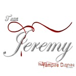 Team Jeremy The Vampire Diaries Raven Ribbon
