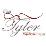 Team Tyler The Vampire Diaries Raven Ribbon