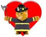 FireMan Kitty Valentine
