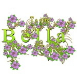 Team Bella Floral Lavender Flowers yellow Gold