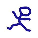 Leap Dancer Blue