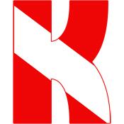 Scuba Flag Letter K