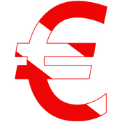 Scuba Flag Euro Sign