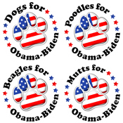 Paws for Obama-Biden