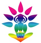 Rainbow Yogi with Chakra Colors