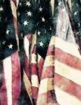 Vintage American Flags