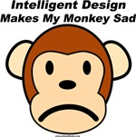 ShovelBums Archaeology Gear - Intelligent Design Makes My Monkey Sad