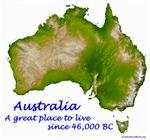 Australia - NASA SRTM
