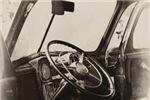 Vintage Truck Steering Wheel