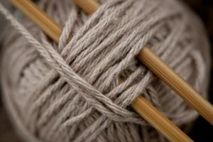 Yarn Ball and Needles