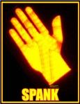spank hand