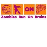 Funny Zombies Brains