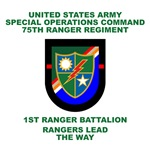 1st Ranger Battalion Flash