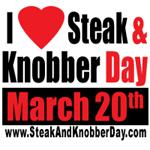 I Love Steak and Knobber Day