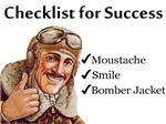 Checklist for Success - Moustache
