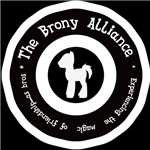 Brony Alliance in white