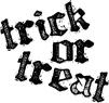 Trick or Treat Rhyme