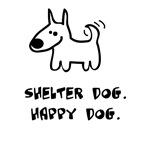 Shelter Dog, Happy Dog