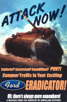 Attack Now With Your Ford Eradicator