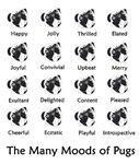 Pug Moods
