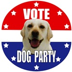 Vote: Dog Party!