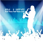 Blues Equalizer Background