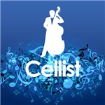 Music Melody Cellist