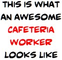 awesome cafeteria worker