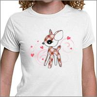 Cute Fawn (Red / Pink / Blue)